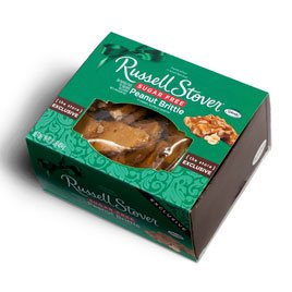 Russell Stover Sugar Free Peanut Brittle, 1 lb. by Russell Stover