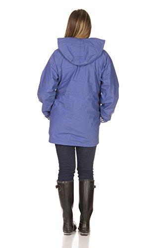 Rain Slicks Women S Classic Look Raincoat Hooded Plaid