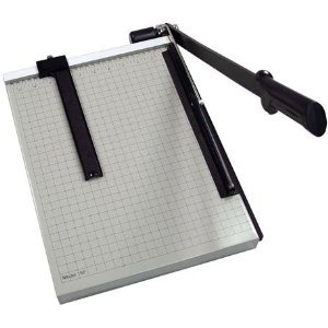 DAH 12E 12 in. Cut Length Vantage Guillotine Paper Trimmer & Cutter44; 15 Sheets
