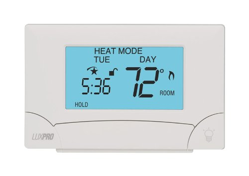LuxPRO PSP711TS Touch Screen 7-Day Deluxe Programmable Thermostat - Deluxe Programmable Thermostat