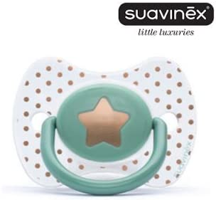 Suavinex - Chupete Haute Couture Fisiologico Silicone, 0-4M ...