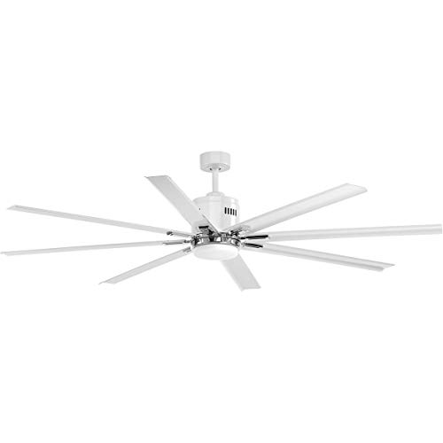 Decovio 17161-WFL Jackson 72 inch White Ceiling Fan Top Selling