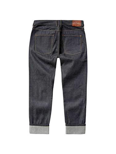Raw Jeans Risvolto Uomo Pepe Ferma Regular Tela Denim xEPgqqpwd