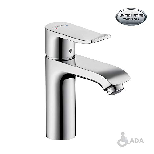 Hansgrohe 31080001 Metris 110 Single-Hole Faucet, Chrome
