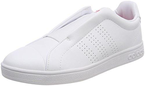 adidas Advantage Adapt, Zapatillas de Deporte para Mujer Blanco (Ftwbla / Ftwbla / Rosrea 000)