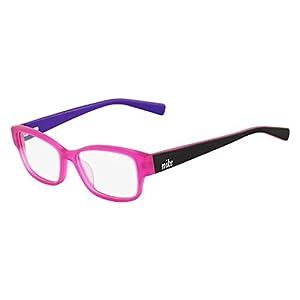 Nike Eyeglasses 5527 606 Pink/Black Demo 46 15 130