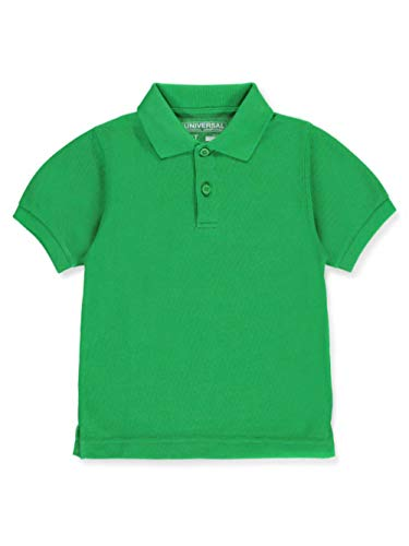 Universal School Uniform Baby Boys Short Sleeve Pique Polo Kelly Green Size 2T