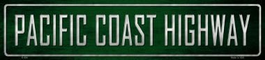 Smart Blonde Pacific Coast Highway Metal Novelty Street for sale  Delivered anywhere in USA