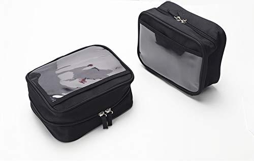 Small for Men Travel Short Trips Organizer Black Bags 2 Packs LO11 ()