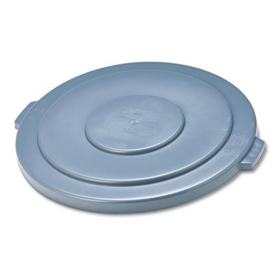 Rubbermaid RCP 2654 GRA Brute Lid- Grey- for 55 Gallon Round Container (Gallon Brute Round Container Lid)