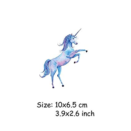 Amazon com: Shoppy Star Animals Unicorn Iron on Transfers