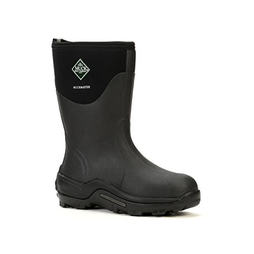 The Original MuckBoots MuckMaster Mid Boot,Black,11 M US Mens/12 M US Womens by Muck Boot (Image #4)