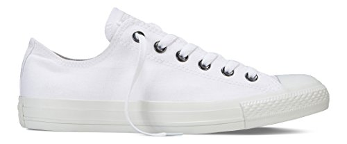 Converse Mens Chuck Taylor All Star Ox Stagionale Mono Bianco