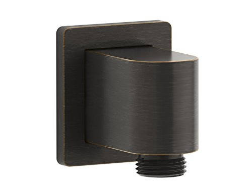 Kohler K-98351-2BZ Awaken Wall-Munt Supply Elbow with Check Valve Oil-Rubbed Bronze by Kohler