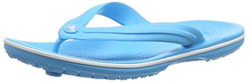 crocs Crocband Flip - Chanclas Unisex adulto Blu (Electric Blue)