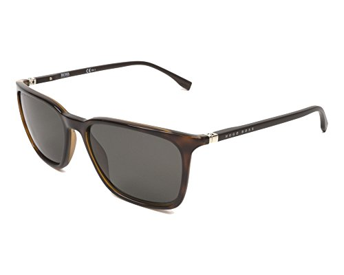 BOSS by Hugo Boss Men's Boss 0959/s Rectangular Sunglasses, DKHAVANA, 56 mm