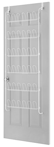 Whitmor 18-Pair OTD Shoe Rack