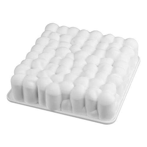 1 piece Silicone 3D Cake Cherry Pallet Baking Mousse Chocolate Mousse Cake Decorating Tool Mold Baking Pan ()