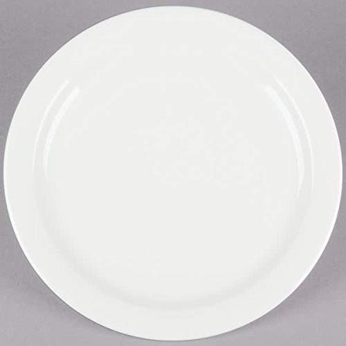 - Narrow Rim American White Plate (36, 6.5 inch)