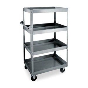 Stock Cart, 4 Trays