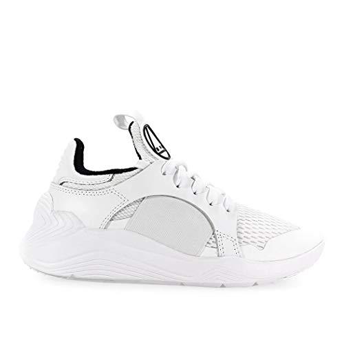 Alexander McQueen MCQ Women's 544904R25619000w White Fabric Sneakers