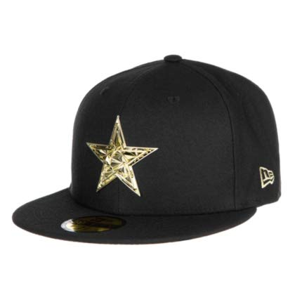 aed36c47 Amazon.com : New Era Dallas Cowboys Fractured Metal Fitted 59Fifty ...
