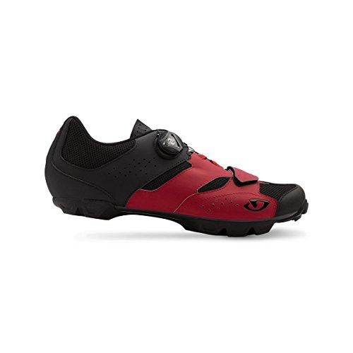 48 Red Eu Uomo Scarpe Da Ciclismo Giro 5 Multicolore Cylinder dark black nxv14qqAw