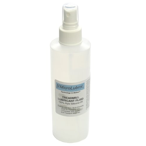 MicroLubrol Treadmill Lubricant Fluid Pure 100% Silicone Oil Multi-Viscosity 8 fl. oz, 236mL