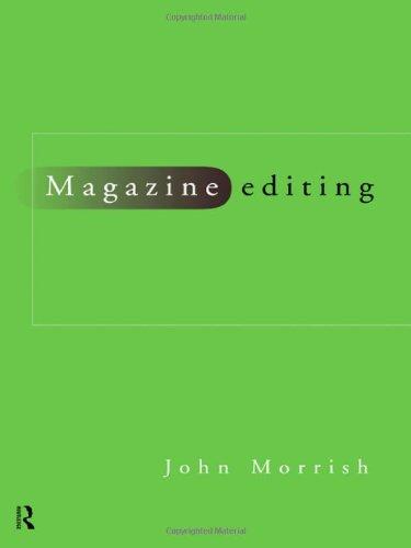 Magazine Editing  Blueprint Series