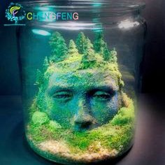 100 semillas de césped de las PC del acuario Mini Plantas acuáticas Semilla del tanque cubierta de hierba embellecimiento de los pescados de la planta DIY ...
