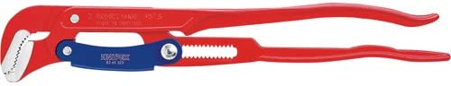 83 60 020 Pipe Wrench S-Type with Rapid Adjustment 2 in Red
