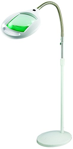 Brightech-LightView-PRO-SuperBright-Magnifier-Floor-Lamp-with-60-LEDs-Extra-Large-Lens-Adjustable-Height