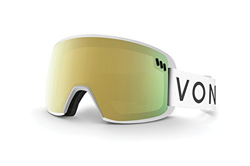 VONZIPPER ALT SM, White Met/Gold - Von Sunglasses White Zipper