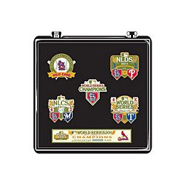 (MLB 2011 World Series Champions Five Piece Commemorative Pin Set )