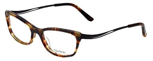 VERA WANG Eyeglasses V323 Horn 53MM