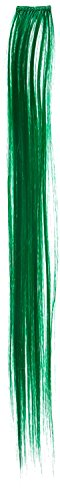 Regatta Single - Donna Bella Hair Single Synthetic Clip-In Hair Extensions, Green, 18 Inch, 1.6 Ounce