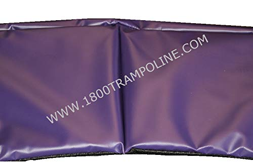 Family Store Network Purple Made in USA 13' Round Deluxe Trampoline Frame Pad 12'' Wide