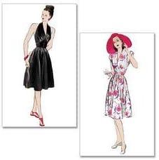 1950s Sewing Patterns | Dresses, Skirts, Tops, Mens Butterick Patterns B5209 Size EE 14-16-18-20 Misses Dress Pack of 1 White £7.25 AT vintagedancer.com