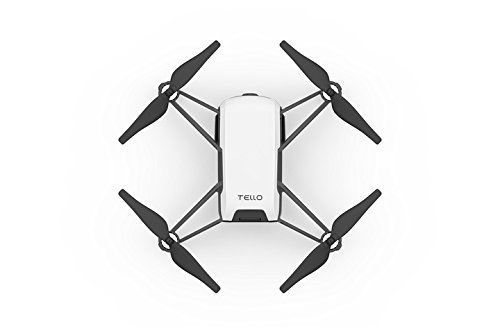 Price comparison product image Ryze Tello Quadcopter Drone with HD camera and VR,powered by DJI technology and Intel processor,coding education,DIY accessories,throw and fly