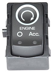 ACDelco D1433G GM Original Equipment Ebony Ignition Start/Stop Switch