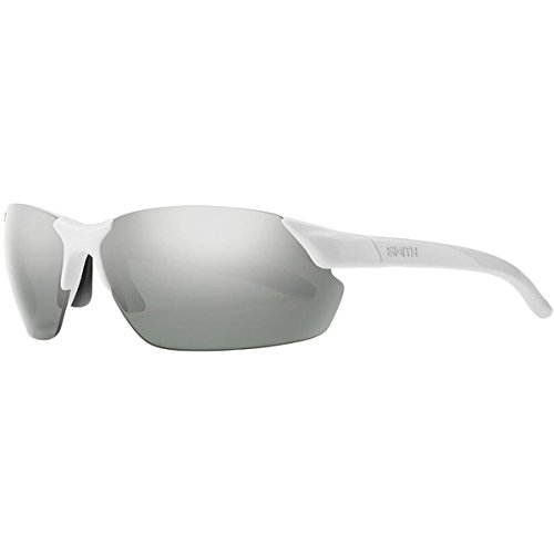 Smith Optics Parallel Max Sunglasses, White Frame, Polar Platinum/Ignitor - Parallel Max Smith Polarized Sunglasses