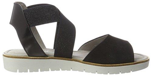 Shoes Ocean para Pazifik Mujer Sandalias Fashion Azul Cuña 16 con Gabor aw4dqa
