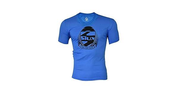 Siux Camiseta Tecnica Dry Azul Negro: Amazon.es: Deportes y aire libre