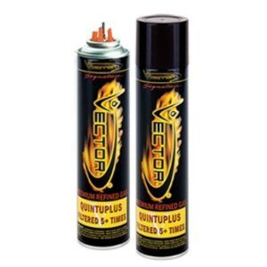 Vector Premium 320 Milliliter 14x Filtered Refined Butane Fuel 24 Pack by KGM Vector (Image #1)