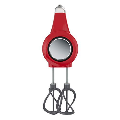 BLACK+DECKER MX600R Helix Performance Premium 5-Speed Hand Mixer, small, Red