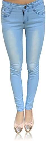 Demon&Hunter 608 Series Women's Skinny Slim Jeans