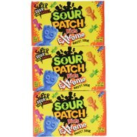 Sour Patch Kids Extreme Theater Box 3.5oz (Set of 3) ()