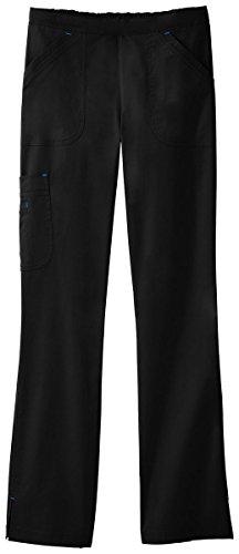 Bio Womens Cargo Scrub Pant X-Large Black by White Swan