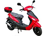 50cc Gas Street Legal Scooter TaoTao ATM50-A1 - Red