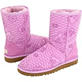UGG Australia Women's Classic Short Kimono Winter Boots,Orchid Bloom,11 US